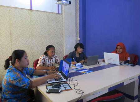 Pelatihan Perkantoran Elektronik Dinas Pemberdayaan Perempuan dan Perlindungan Anak Kab Boven Digoel Agustus 2018