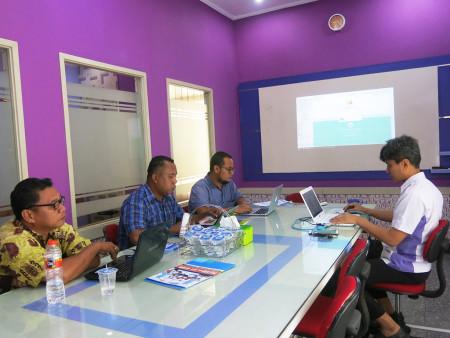 Pelatihan Sistem Informasi Pembayaran SPP (SIP SPP) Fakultas Ekonomi dan Bisnis Universitas Cenderawasih September 2018