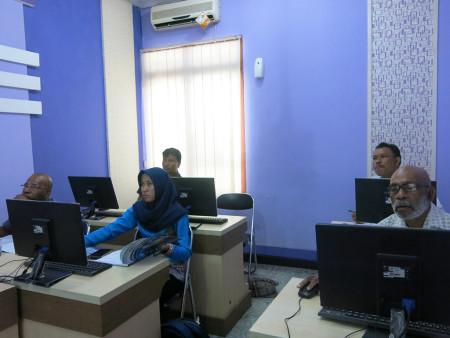 Pelatihan Teknologi Informas (TI) DPMPTSP Kabupaten Boven Digoel Provinsi Papua September 2018