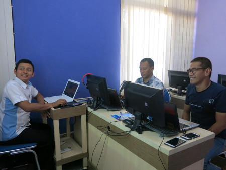 Pelatihan Web Design Tingkat Dasar DisKomInfo Statistik dan Persandian Kab Sorong Prov Papua Barat September 2018