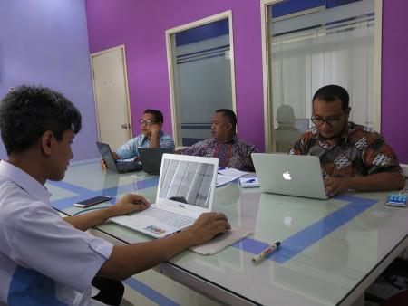 Pelatihan e-Government Fakultas Ekonomi dan Bisnis Universitas Cenderawasih Provinsi Papua September 2018