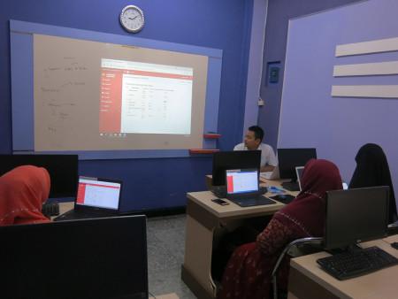 Pelatihan pengelolaan dan penatausahaan persediaan BKPSDM Kab Aceh Timur Prov Aceh September 2018