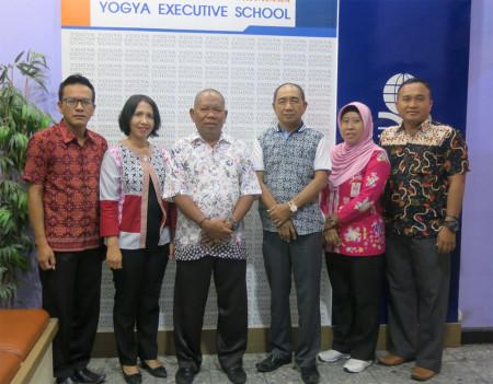 Kegiatan Pelatihan Perkantoran Elektronik Sekwan DPRD Kabupaten Banggai Provinsi Sulawesi Tengah Oktober 2018