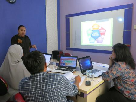 Pelatihan Cyber Public Relation DISKOMINFO Kabupaten Belitung November 2018