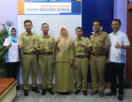 Pelatihan E-Office Dinas Pendidikan (DISDIK) Kabupaten Gunungkidul Provinsi Daerah Istimewa Yogyakarta (DIY) Oktober 2018