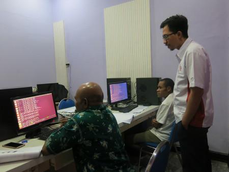 Pelatihan Jaringan Komputer Linux Tingkat Lanjut Universitas Cenderawasih Provinsi Papua Oktober 2018
