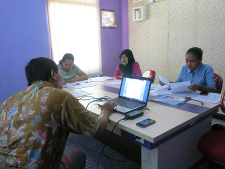 Pelatihan Pengelolaan Laporan Keuangan Organisasi Perangkat Daerah (OPD) Bagian Hukum SETDA Kabupaten Boven Digoel Oktober 2018