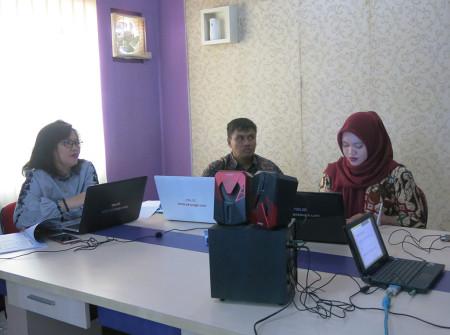 Pelatihan Pengembangan SDM Dinas Komunikasi dan Informatika (DISKOMINFO) Kabupaten Belitung Provinsi Kepulauan Bangka Belitung November 2018
