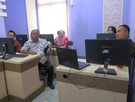 Pelatihan Perkantoran Elektronik SITIPRO Sekwan DPRD Kabupaten Banggai Provinsi Sulawesi Tengah Oktober 2018
