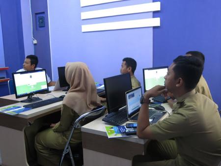 Pelatihan Sistem Informasi Manajemen Pelayanan Antrian Prima SIMPRIMA Dinas Pendidikan (DISDIK) Kabupaten Gunungkidul Provinsi DIY Oktober 2018