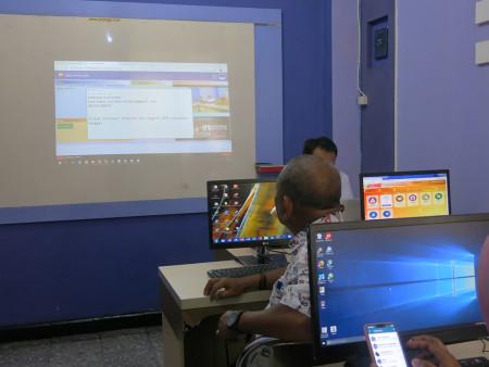 Pelatihan Sistem Informasi TV Info Publikasi dan Promosi (SITIPRO) Sekwan DPRD Kab. Banggai Prov Sulawesi Tengah Oktober 2018