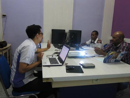Pelatihan Teknologi Informasi (TI) UPT Komputer Universitas Cenderawasih Provinsi Papua Oktober 2018