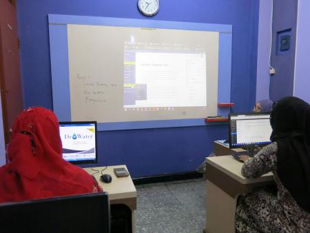 Pelatihan Web Design Dinas Komunikasi dan Informatika (DISKOMINFO) Kabupaten Belitung November 2018