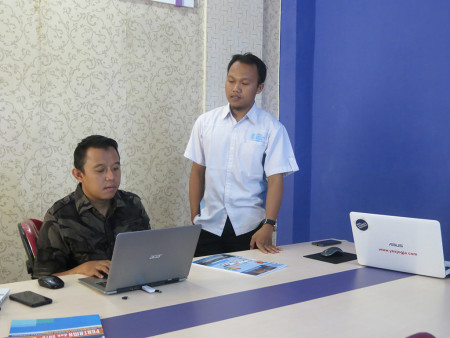 Pelatihan Web Programming Tingkat Menengah DUKCAPIL Kab Kukar Prov Kaltim Oktober 2018