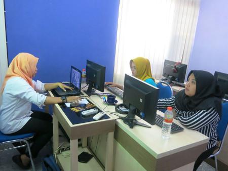 Pelatihan Desain Grafis Media Informasi Visual Dinas Pariwisata (DISPAR) Kabupaten Belitung November 2018