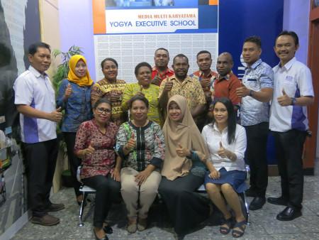 Pelatihan Pengembangan SDM DPMPTSP Kabupaten Boven Digoel Provinsi Papua November 2018