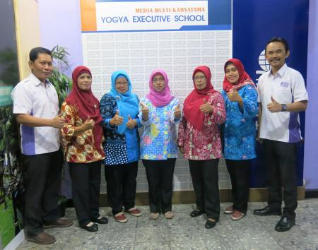 Pelatihan Perkantoran Elektronik Badan Perencanaan Pembangunan Daerah (BAPPEDA) Kabupaten Purworejo November 2018