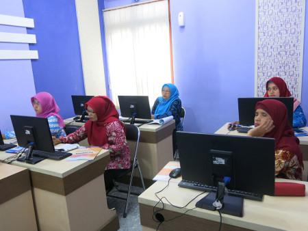 Pelatihan Sasaran Kinerja Pegawai (SKP) Elektronik Badan Perencanaan Pembangunan Daerah (BAPPEDA) Kabupaten Purworejo November 2018