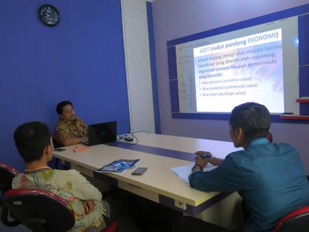 Pelatihan Tata Kelola Aset Universitas Islam Sultan Agung (UNISSULA) Semarang November 2018