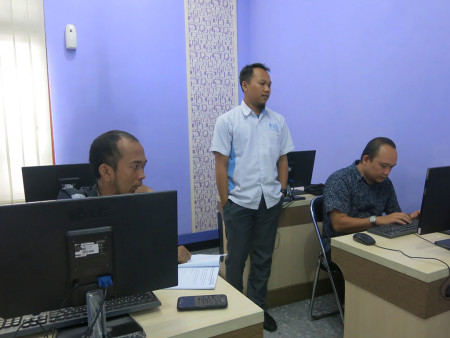 Pelatihan Teknologi Informasi (TI) DPMPPTSP & Perindustrian Kab Belitung November 2018