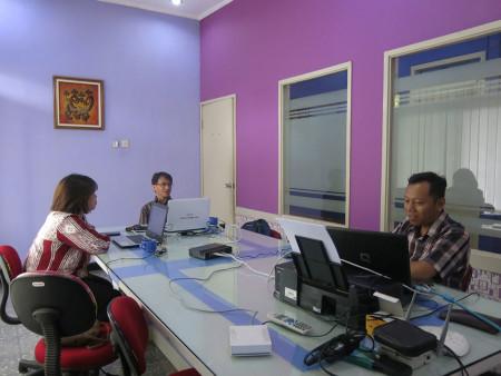 Pelatihan Teknologi Informasi (TI) Dinas Kependudukan dan Pencatatan Sipil (DUKPENCAPIL) Kab Belitung November 2018