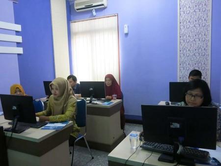 Pelatihan E-Office Universitas Diponegoro Kota Semarang Desember 2018