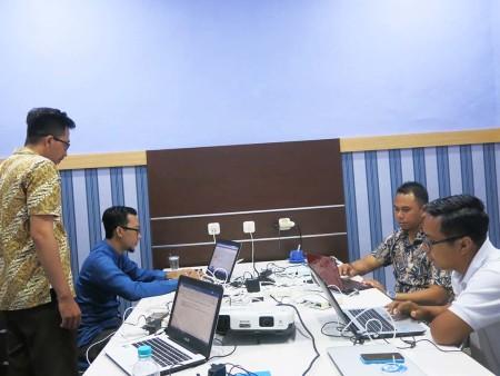 Pelatihan Jaringan MikroTik Router OS Dinas Komunikasi, Informatika, Statistik dan Persandian Kabupaten Paser Desember 2018