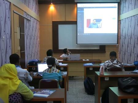 Pelatihan Pengelolaan Website Sekretariat DPR Papua Desember 2018
