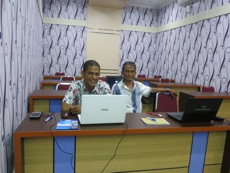 Pelatihan Teknologi Informasi (TI) DISKOMINFO Kabupaten Kupang Provinsi Nusa Tenggara Timur November 2018