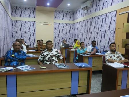 Pelatihan Teknologi Informasi (TI) Sekretariat DPR Papua Provinsi Papua Desember 2018