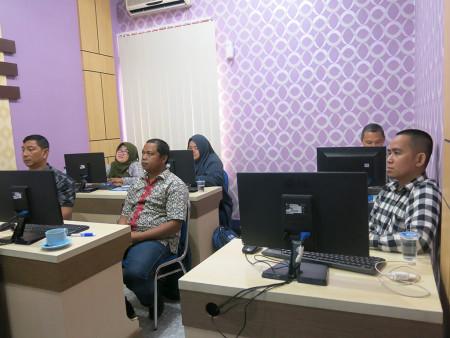 Pelatihan Pengelolaan Website Pemerintah Dinas Pemberdayaan Masyarakat dan Desa Provinsi Kalimantan Selatan Februari 2019