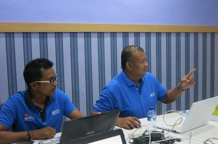 Pelatihan Administrator Jaringan Mikrotik Dinas Komunikasi Dan Informatika (DISKOMINFO) Kabupaten Kupang Maret 2019