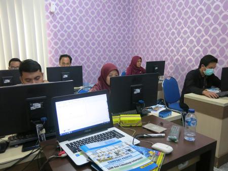 Pelatihan Desain Grafis untuk Media Informasi Visual Dinas Perpustakaan Dan Kearsipan Kota Jogja Maret 2019
