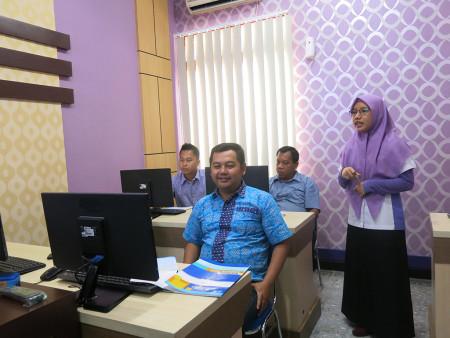 Pelatihan E Government DISKOMINFO Dan Statistik Kab Tabalong Maret 2019