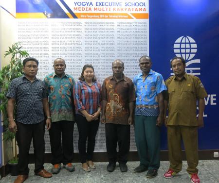Pelatihan Kehumasan Bagian Humas Sekretariat Daerah Kabupaten Lanny Jaya Provinsi Papua Maret 2019