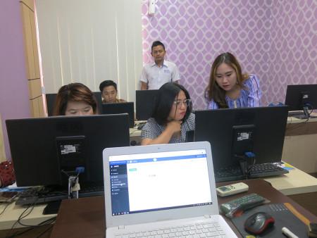 Pelatihan Komputerisasi Kearsipan Elektronik (e-Filing) Universitas Kristen Indonesia DKI Jakarta Maret 2019