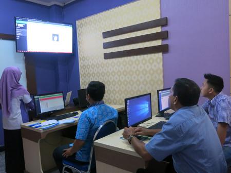 Pelatihan Pengelolaan Data Statistik Sektoral (SIMDATA INFO) DISKOMINFO Kab Tabalong Maret 2019