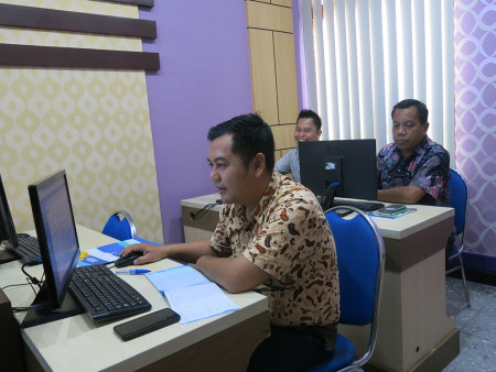 Pelatihan Perkantoran Elektronik DISKOMINFO dan Statistik Kab Tabalong Maret 2019