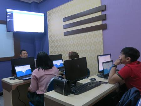 Pelatihan Perkantoran Elektronik e-Filing Universitas Kristen Indonesia DKI Jakarta Maret 2019