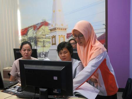 Pelatihan Sistem Informasi Manajemen Rencana Kerja Tahunan (SIM-RKT) BKPSDM Kab Murung Raya Prov Kalimantan Tengah Maret 2019