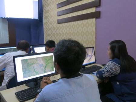 Pelatihan Geographic Information System (GIS) DPMPTSP Kabupaten Merauke Provinsi Papua Mei 2019