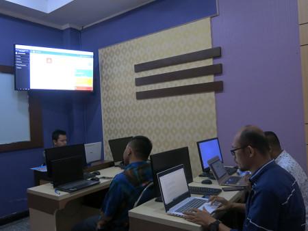 Pelatihan Penerapan Perkantoran Elektronik dengan Aplikasi Berbasis Web LPMP Provinsi Maluku Mei 2019