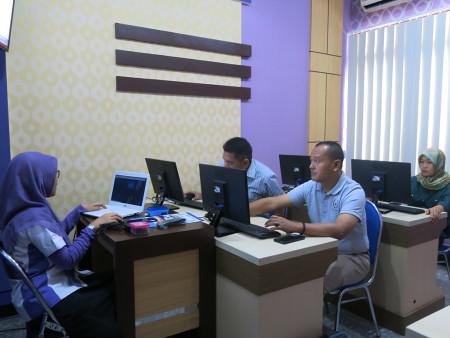 Pelatihan Pengelolaan Data Statistik Sektoral DISKOMINFO Kota Batam Provinsi Kepulauan Riau Mei 2019
