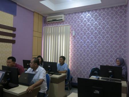 Pelatihan Sistem Informasi Geografis (SIG) Dinas Penanaman Modal dan Pelayanan Terpadu Satu Pintu (DPMPTSP) Kab Merauke Mei 2019