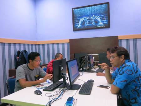 Pelatihan Teknologi Informasi (TI) Badan Kepegawaian Daerah (BKD) Provinsi Papua Barat Mei 2019