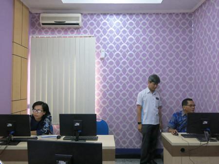 BimTek TI Aplikasi Pelaporan dengan Database DISKOMINFO Kab BarSel Juni 2019