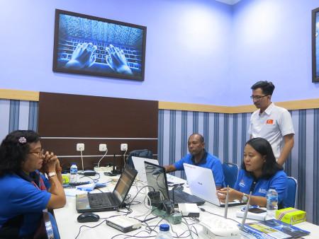 Pelatihan Administrator Jaringan Komputer Tingkat Dasar DISKOMINFO Kabupaten Kupang 26 Juni 2019
