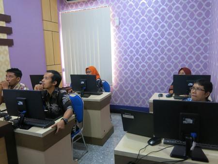 Pelatihan Aplikasi E-Office Dinas Kesehatan (DINKES) Kabupaten Banjarnegara Provinsi Jawa Tengah Juni 2019