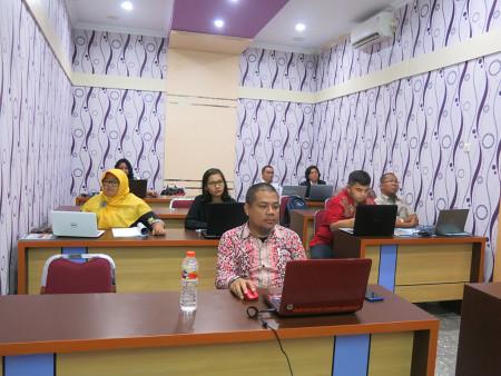 Pelatihan Aplikasi Perkantoran Elektronik untuk Pengelolaan Data Statistik Sektoral DISKOMINFO Juni 2019