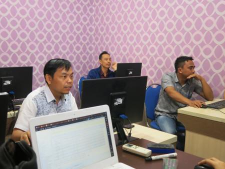 Pelatihan E Office Badan Kepegawaian dan Pengembangan Sumber Daya Manusia (BKPSDM) Kabupaten Murung Raya Juni 2019